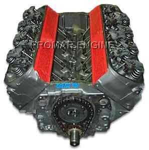 Reman 70 90 Chevy 454 7 4 4 Bolt Long Block Engine