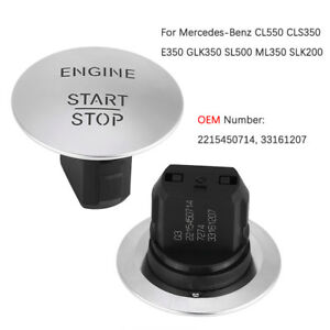 2215450714 Keyless Go Start Stop Push Button Engine Ignition Switch For Mercedes