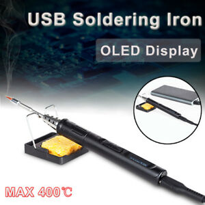 Ts80 Mini Smart Portable Electric Adjustable Temperature Welding Soldering Iron