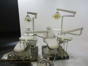 Used Marus Lot Of 2 Dc1690 115 Dental Exam Chairs W Deliveries