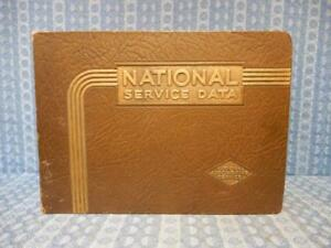 1937 1950 National Service Data Catalog Gm Ford Mopar Nash Packard Graham 40 48