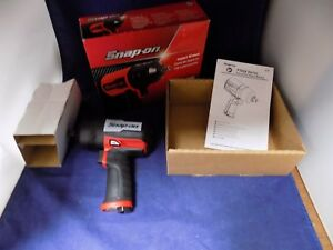 New Snap On Pt850 Super Duty 1 2 Drive Air Impact Wrench New In Box W Boot