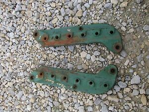 Oliver 70 Rowcrop Tractor Oliver Pair Set Of 2 Seat Mounting Brackets