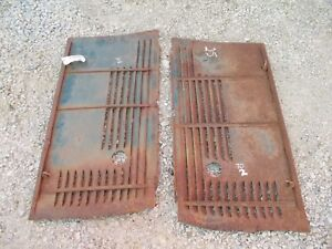 Oliver 70 Tractor Factory Orignal Front Engine Side Cover Curtain Panel Panels