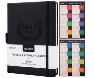 Daily Planner 2019 Monthly Happy Organizer Notebook Academic Student Teacher New