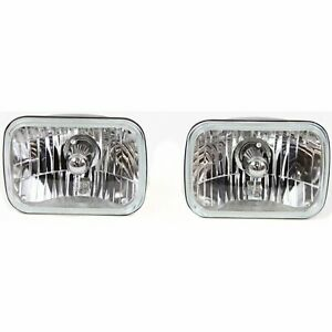 Rampage New Set Of 2 Headlight Conversion Kits Chevy Citation Express Van Pair