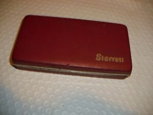 Starrett No 711 001 Last Word W Case Pre owned