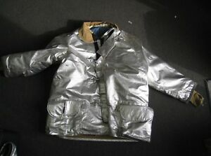 Janesville Lion Firefighter Proximity Jacket Size 52 X 35 R Aluminized Turn Out