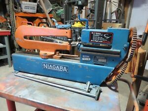 Niagara Circle Shear 16 Ga Ring Cutter Roper Whitney 16 Gauge Diacro Pexto