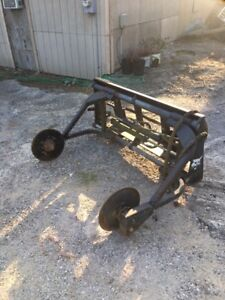 Sod Layer Attachment For Skid Steer