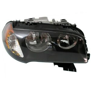 Headlight For 2004 2005 2006 Bmw X3 2 5i 3 0i Models Right With Bulb