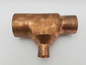 Nibco 2 X 3 4 X 1 1 2 Copper Reducer Fitting Tee Coupling T Connector Wrot