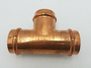 Viega 2 X 2 X 2 Propress Copper Tee Fitting T Coupling 2 Connector P X P X P