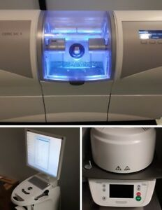 Sirona Cerec Omnicam Dental Acquisition Unit W Mc X Mill Programat Cs Oven