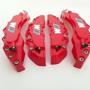M Performance Engineering Plastic Brake Caliper Covers 11 f 9 r For Red Bmw