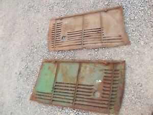 Oliver 70 Tractor Factory Orginal Front Engine Side Cover Curtain Panel Panels