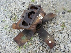 Oliver 77 Rowcrop Tractor Engine Motor Water Pump Assembly Fan Blade