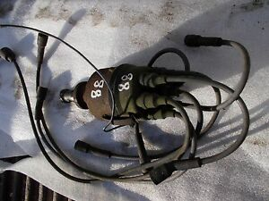 Oliver 88 Tractor Good Engine Motor Distributor Drive Assembly Plug Wires