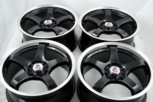 16 Wheels Eclipse Matrix Prius Civic Integra Camry Corolla Xb 5x100 5x114 3 Rims