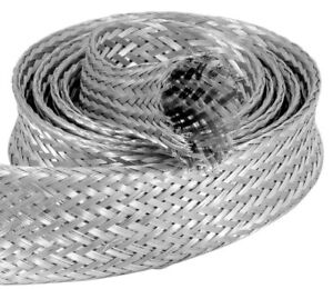 Sleeve Steel Braided Fits 1 5 Inch To 2 O d Hose For Radiator Hose 6 5008b