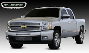 For 2008 Chevrolet Silverado 1500 T rex Grille Overlay Djtm
