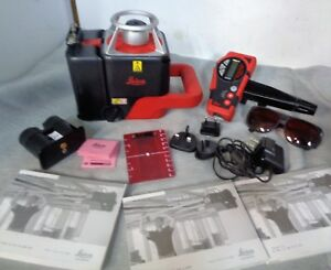 Leica Roteo 35 Rotary Laser Level Package W hard Case