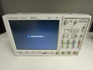Agilent Mso7034a Mixed Signal Oscilloscope 350 Mhz 4 Analog 16 Digital Ch