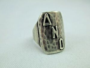 Antique Arts Crafts Chicago Art Silver Shop Sterling Silver Ring 1912 34 219b