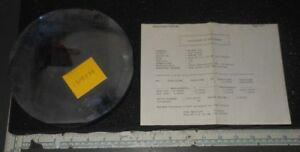Optical Test Plate Mirror W Certificate