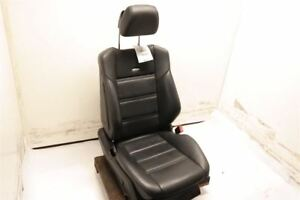 Black Passengr Front Leather Bucket Seat Fits 12 14 Mercedes Benz Cls63 W218 Oem