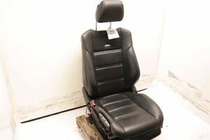 Black Driver Front Leather Bucket Seat Fits 12 14 Mercedes Benz Cls63 W218 Oem
