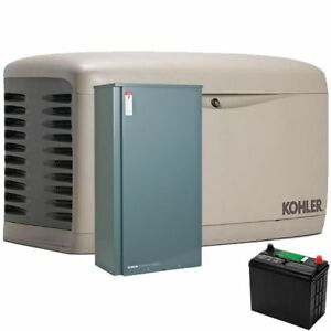 Kohler 20rescl 200sels 20kw Composite Standby Generator System 200a Service