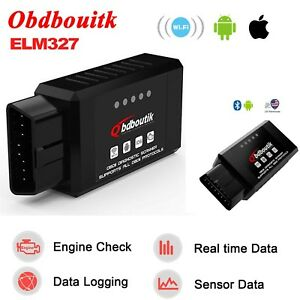 Obd2 Elm327 V1 5 Bluetooth Wifi Car Scanner Android Torque Diagnostic Scan Tool