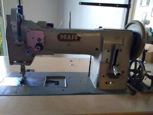 Pfaff 145 Commercial Sewing Machine Heavy Duty Used Head Table Just Serviced