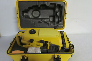 Topcon Dt 30 Digital Theodolite Transit Surveying Equipment