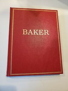 Vintage The Baker Book Furniture Catalog Europe England Far East Mid Century