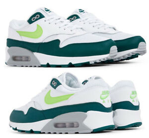 super popular 0aaf2 11b79 Nike AIR MAX 1 Men s Shoe AH8145-201 Medium Olive Sequoia sz 8.5-11  90.00, New  NIKE