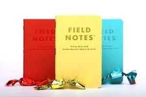 Field Notes sweet Tooth Sealed 3 pack Memo Notebooks Pads Limited Edition