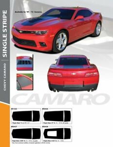 2010 2015 Camaro Single Stripe Stripes Kit