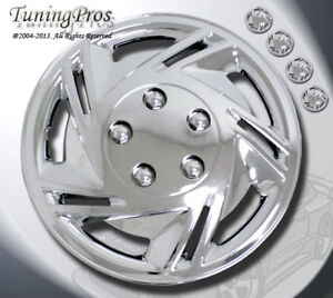 14 Inch Hubcap Chrome Wheel Cover Rim Covers 4pcs With Abs Plastic Style B602