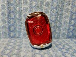 1937 1938 Chevrolet New Right Hand Tail Light Lamp Assembly Chrome