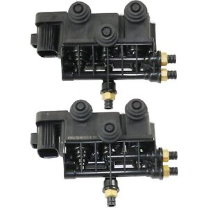 New Set Of 2 Air Suspension Control Valves Front Rear For Range Rover Pair