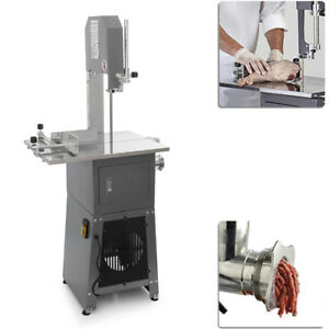 550w 3 4hp Stand Up Butcher Meat Band Saw Grinder Sausage Stuffer Maker Mincer