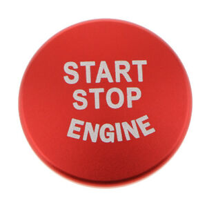 Start Stop Engine Push Button Cover Red For Bmw F30 F20 F32 X1 F48 F45