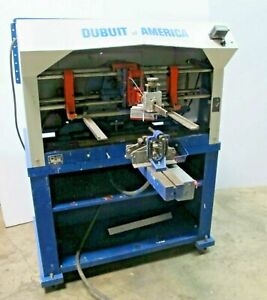 Dubuit Of America Model D 150 Screen Printing Press Round Glass Made In Usa