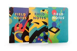 Field Notes xoxo 2018 Limited Edition Sealed Notebooks 3 pack Memo Books
