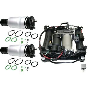 Air Suspension Kit For 2006 2012 Rover 3pc Air Spring And Compressor