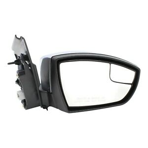 Power Mirror For 2013 2016 Ford Escape Right Side Manual Folding Chrome