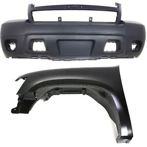 New Auto Body Repair Kit Front For Chevy Suburban Tahoe Gm1000817 Gm1240333