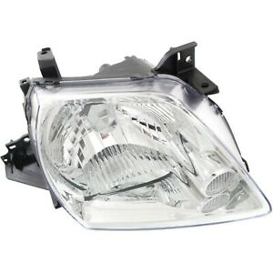 Headlight For 2002 2003 Mazda Mpv Es Lx Models 3l 6cyl Engine 3door Right